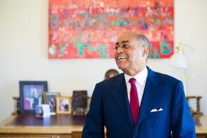 Rodney Ellis at the Capitol