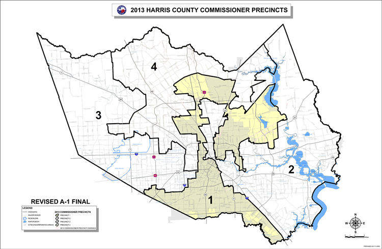 Precinct One Map